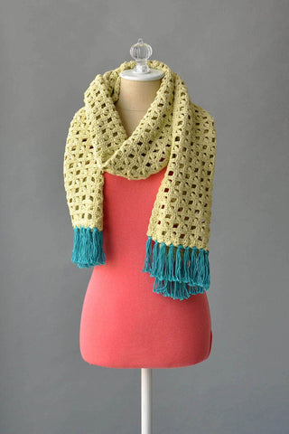 Tropical Crochet Wrap
