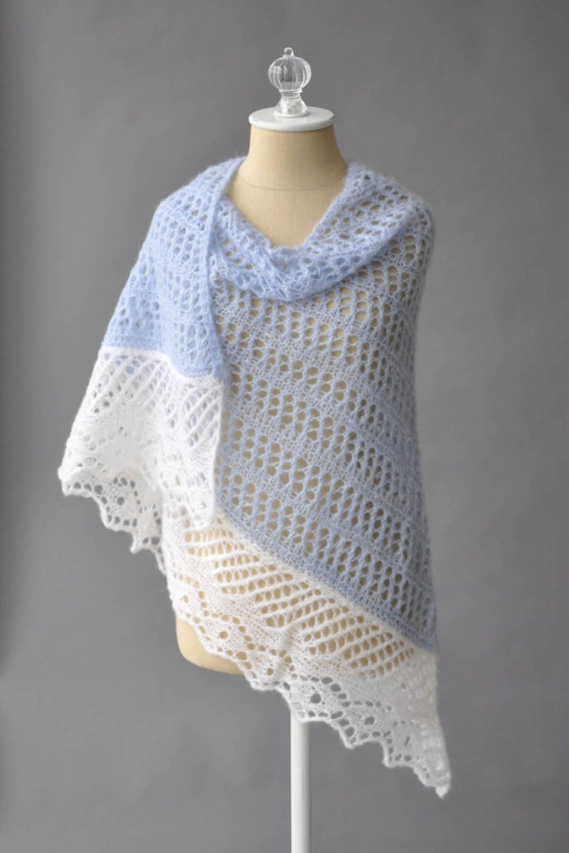 Featherdown Shawl Pattern Rozetti Yarns