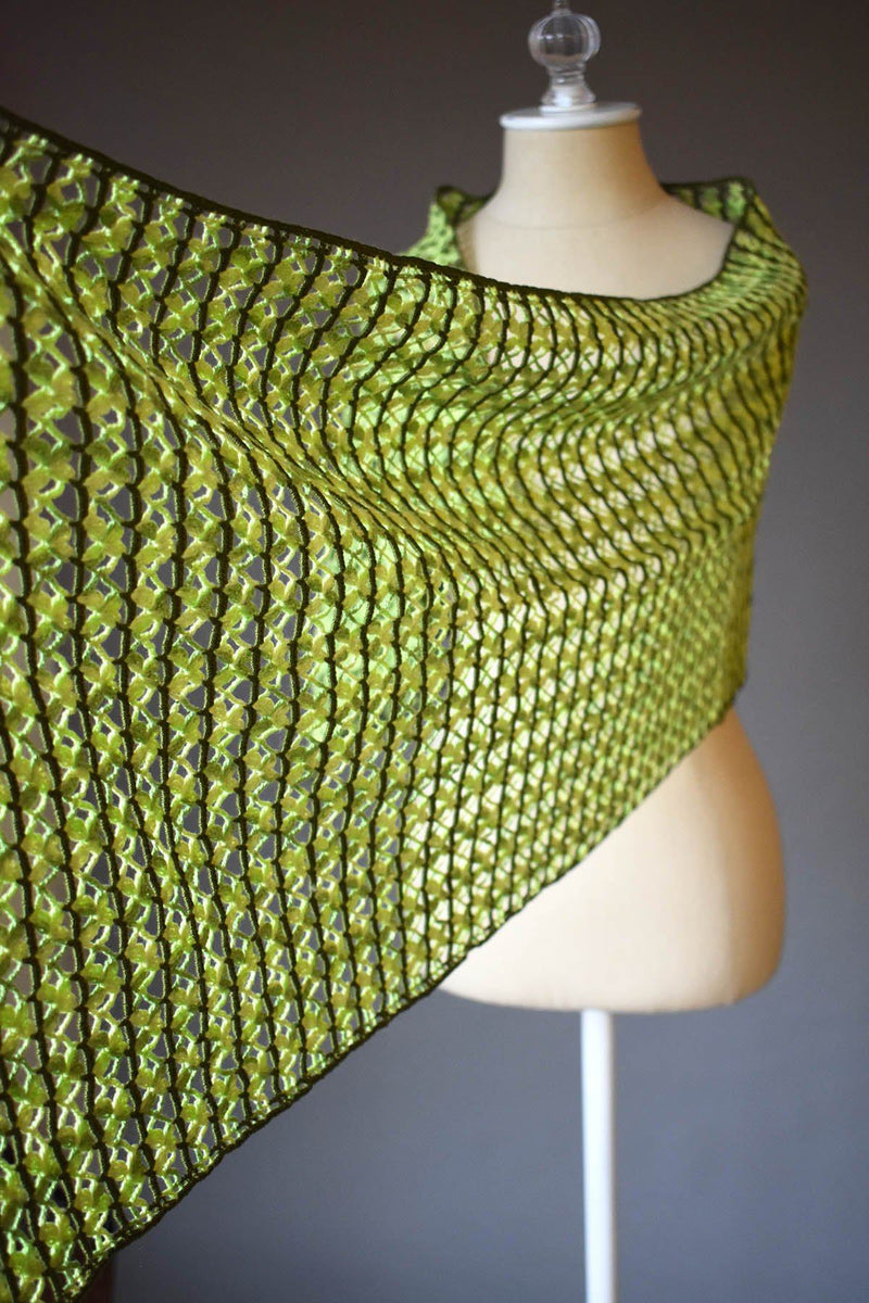 Fern Wrap Pattern Nazli Gelin