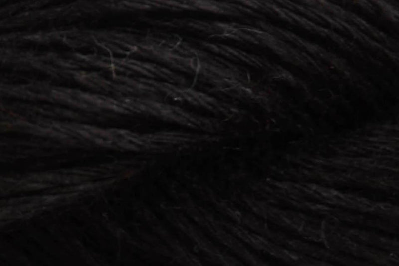 Flax Lace Yarn Fibra Natura 110 Black