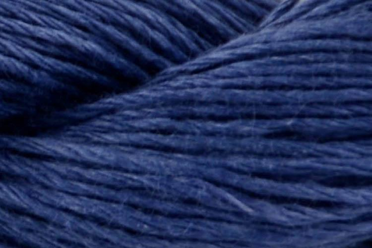 Flax Lace Yarn Fibra Natura 117 Fierce Blue