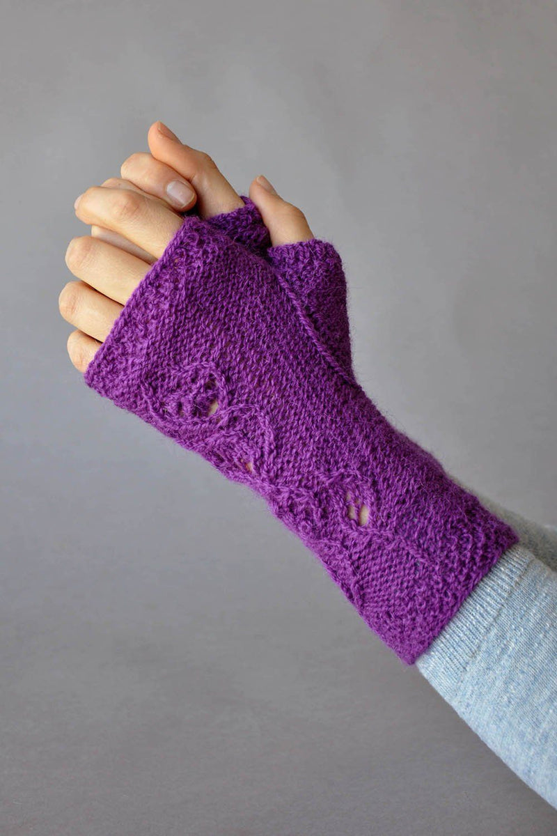 Flight of Fancy Mitts Pattern Universal Yarn