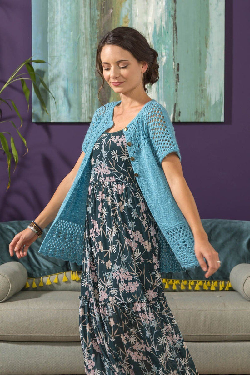 Free Flying Cardi Pattern Universal Yarn