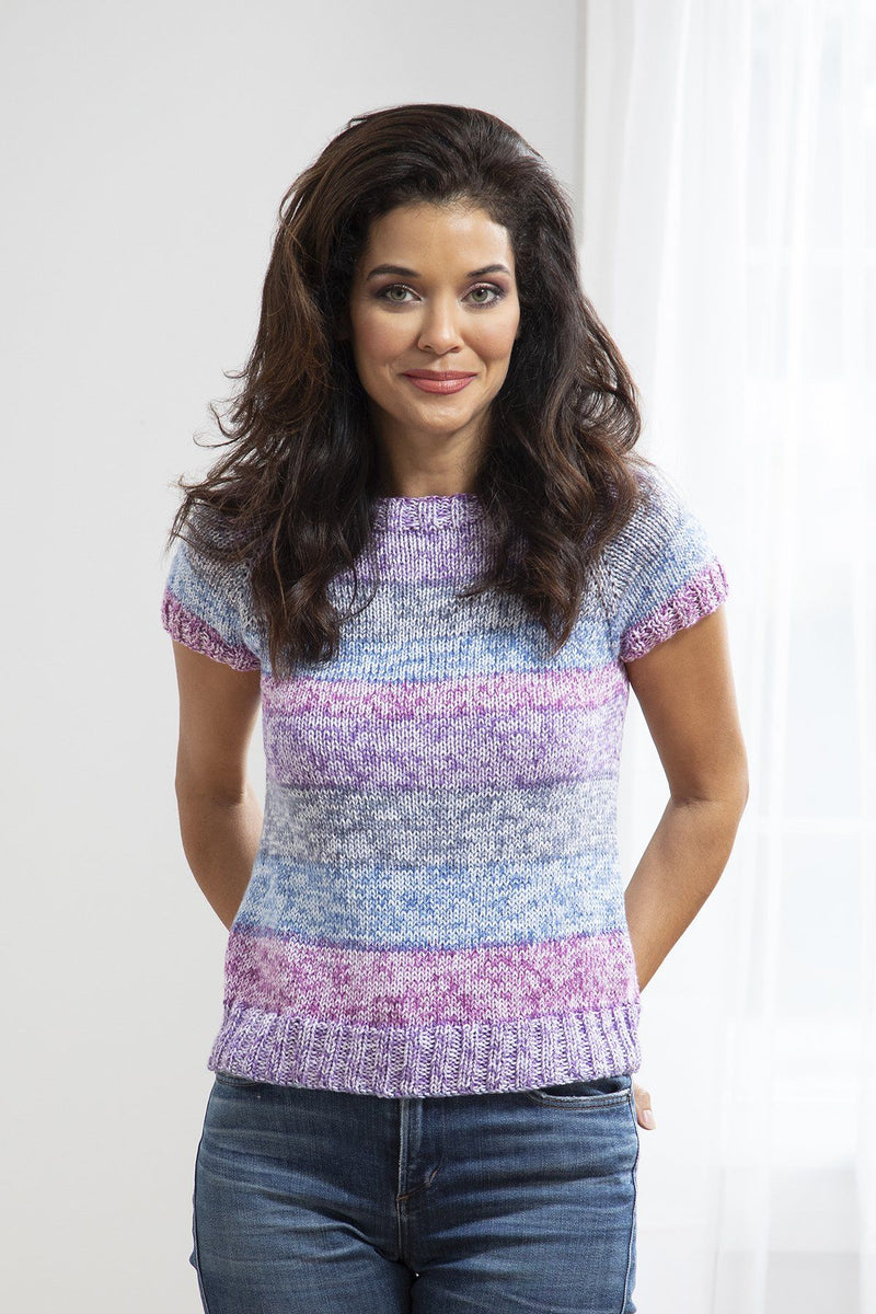 Fresh Berries Tee Pattern Universal Yarn