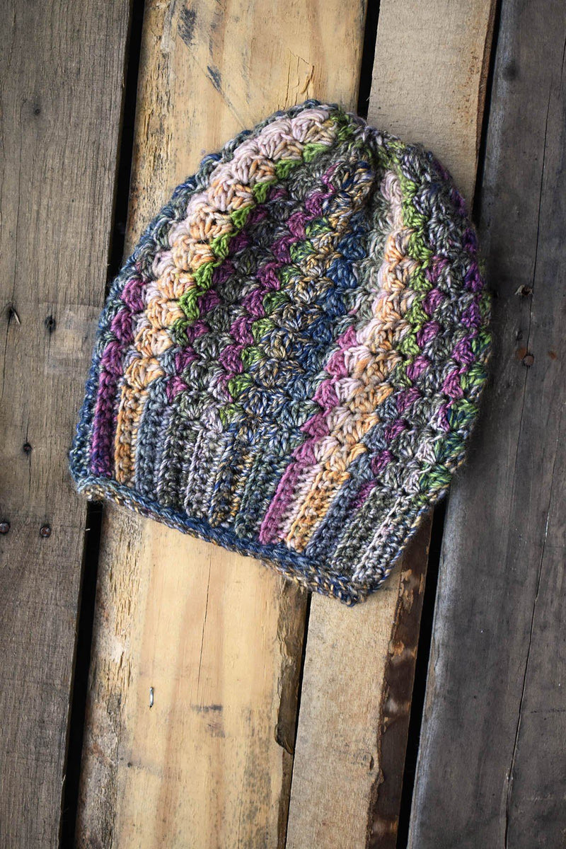 Colorburst Cap Pattern Universal Yarn