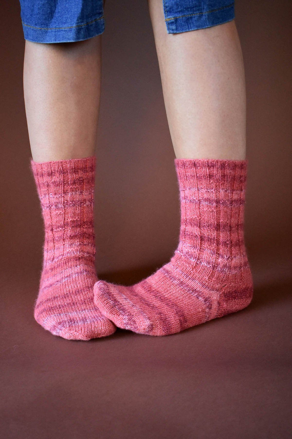 Garden Wall Socks Pattern Wisdom Yarns