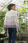 Gradiate Shawl Kit Fibra Natura Gradiate Shawl Purple - Grad03