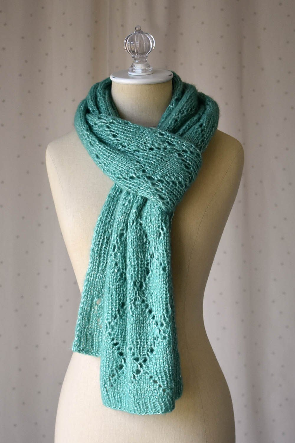 Topiary Scarf Pattern Rozetti Yarns