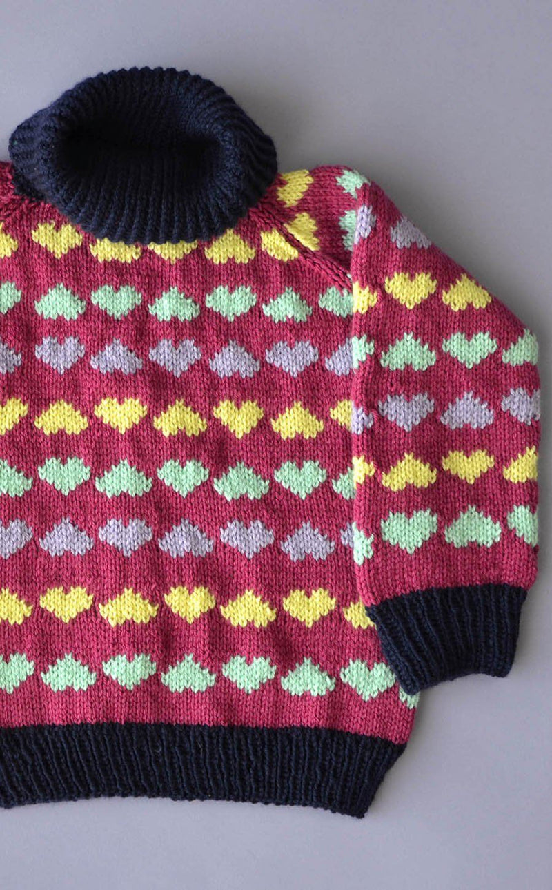 Sweetheart Sweater Pattern Universal Yarn