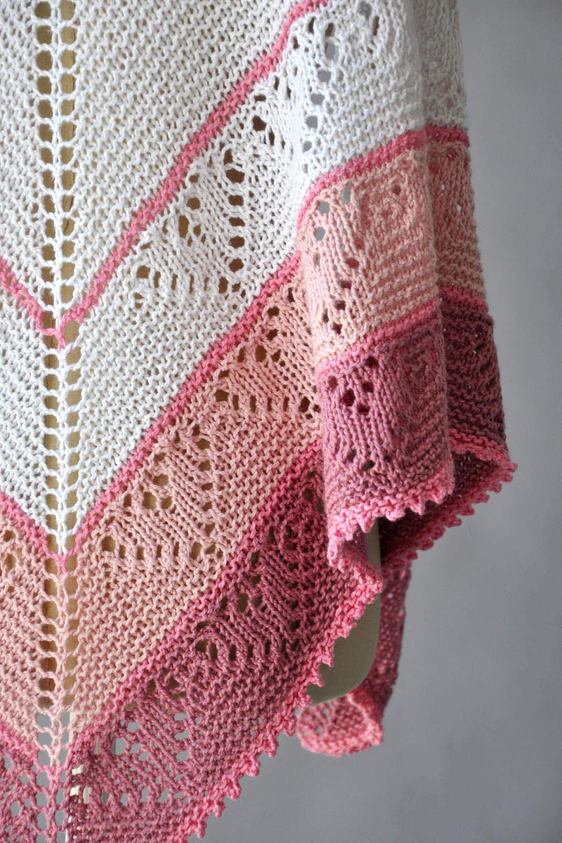 Be Mine shawl Pattern Fibra Natura
