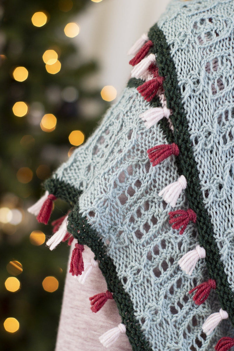 12 Days - Holiday Lights Shawl Kit Universal Yarn