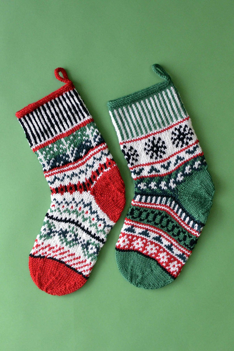 Dona Color Kits - Holiday Kit Universal Yarn Holiday Stockings - Holid01