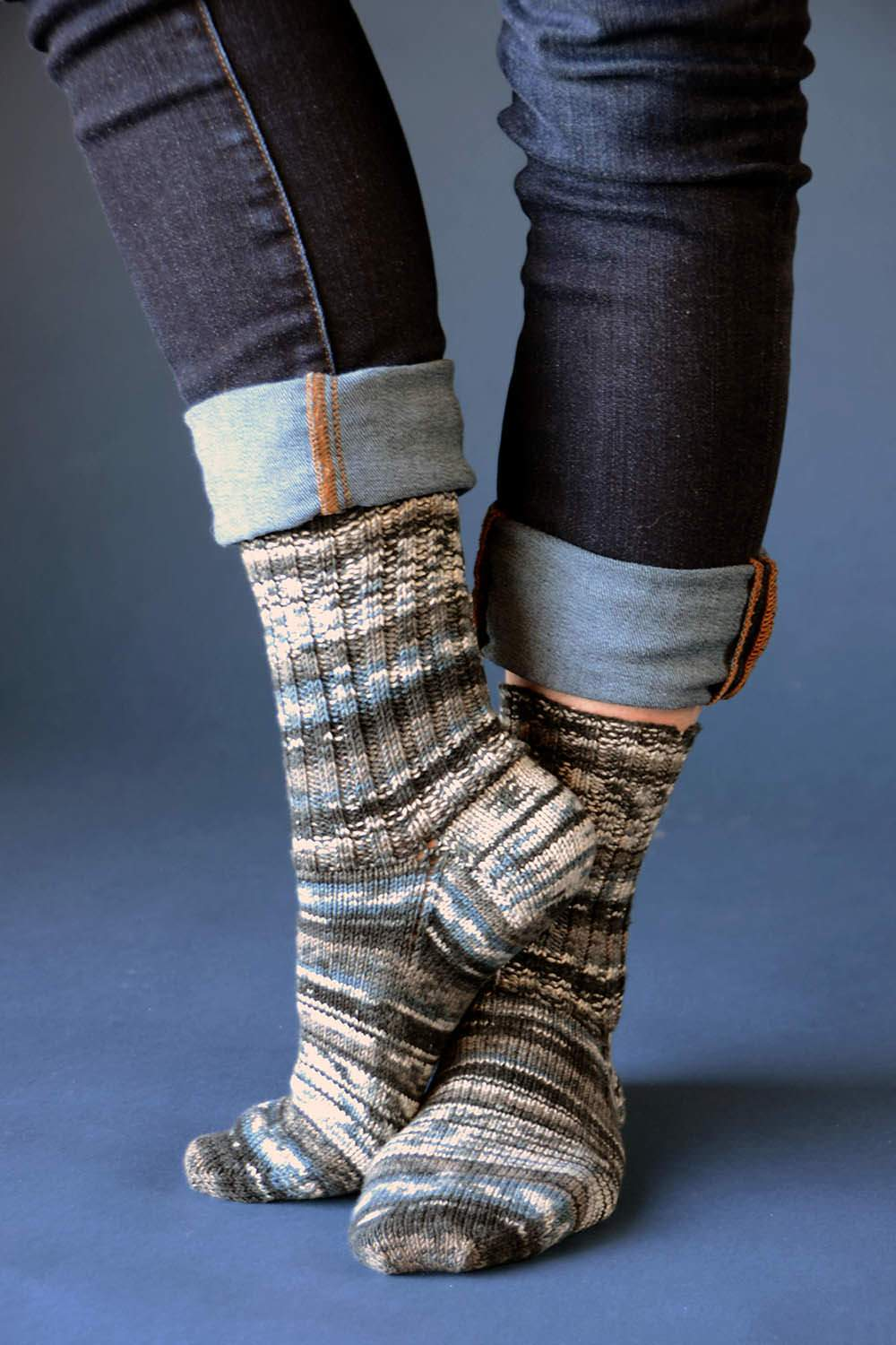 Back to Basics Socks Allegro Pattern Wisdom Yarns