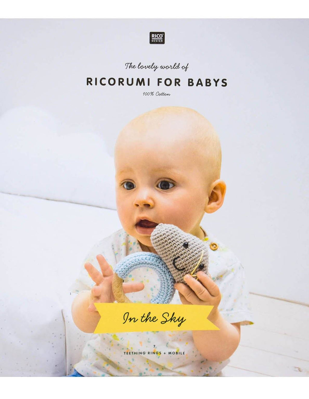 Ricorumi for Babies - In The Sky Book Rico