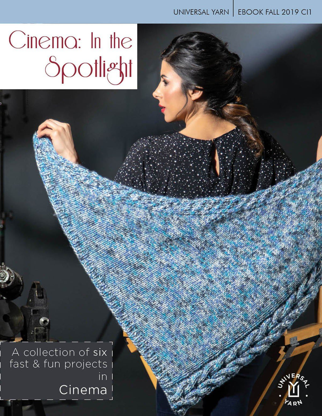 Cinema: In the Spotlight Pattern Rozetti Yarns
