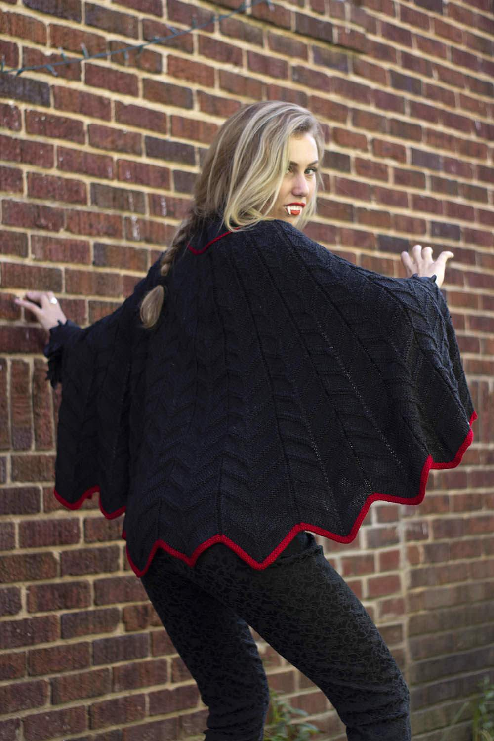 Batcape Pattern Universal Yarn