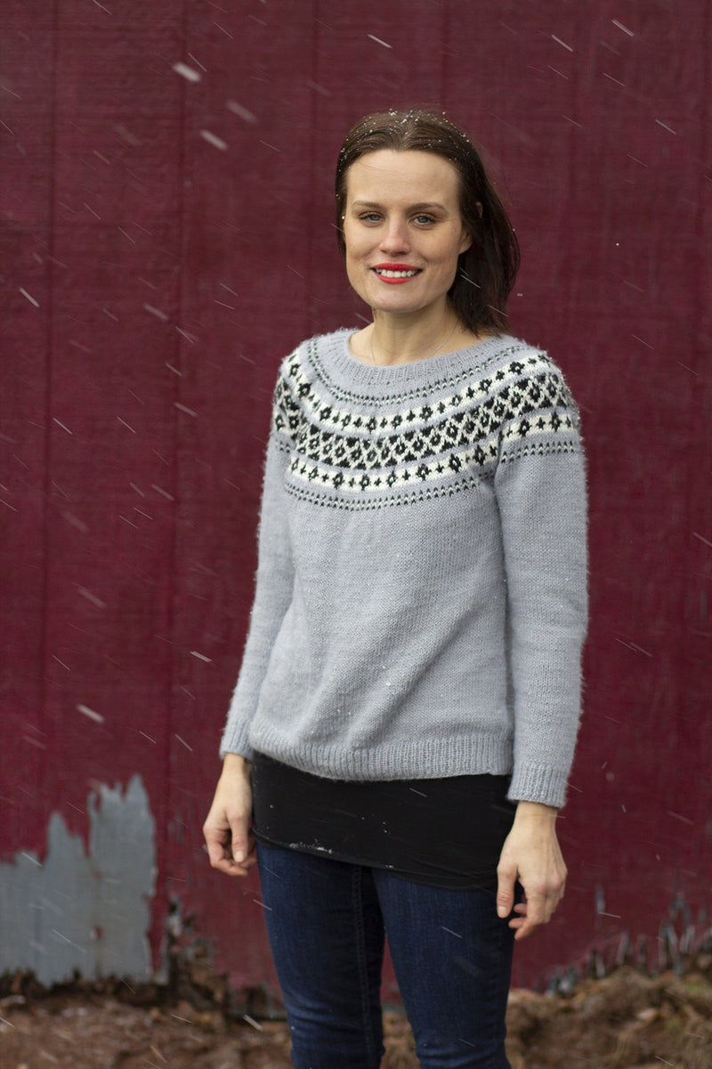 January Sweater Pattern Rozetti Yarns