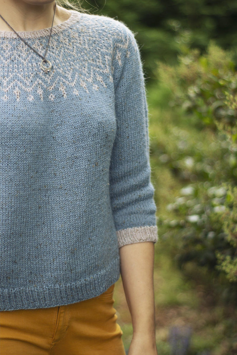 Jay Sweater Pattern Fibra Natura
