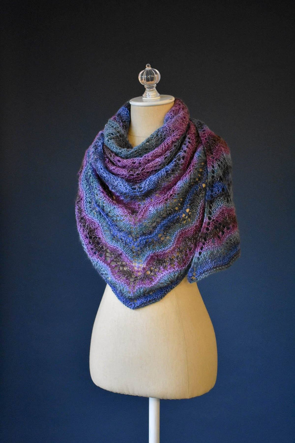 Juniper Berry Shawl Pattern Universal Yarn