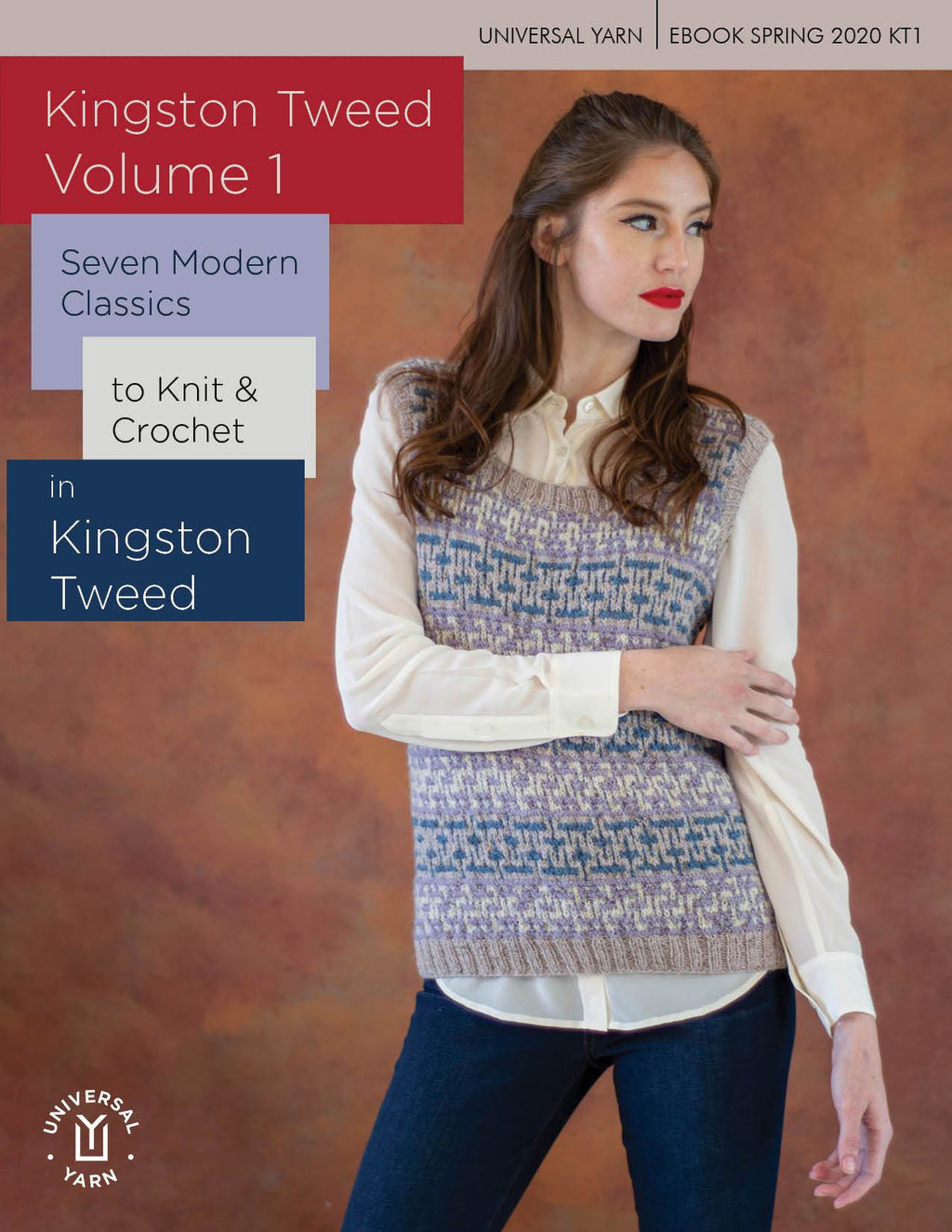 Kingston Tweed Volume I Pattern Fibra Natura