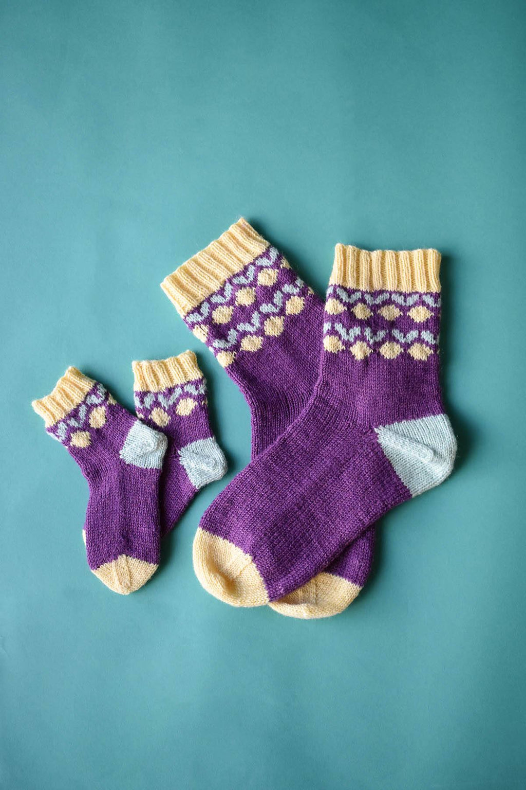 Lemon Drop Socks Pattern Universal Yarn