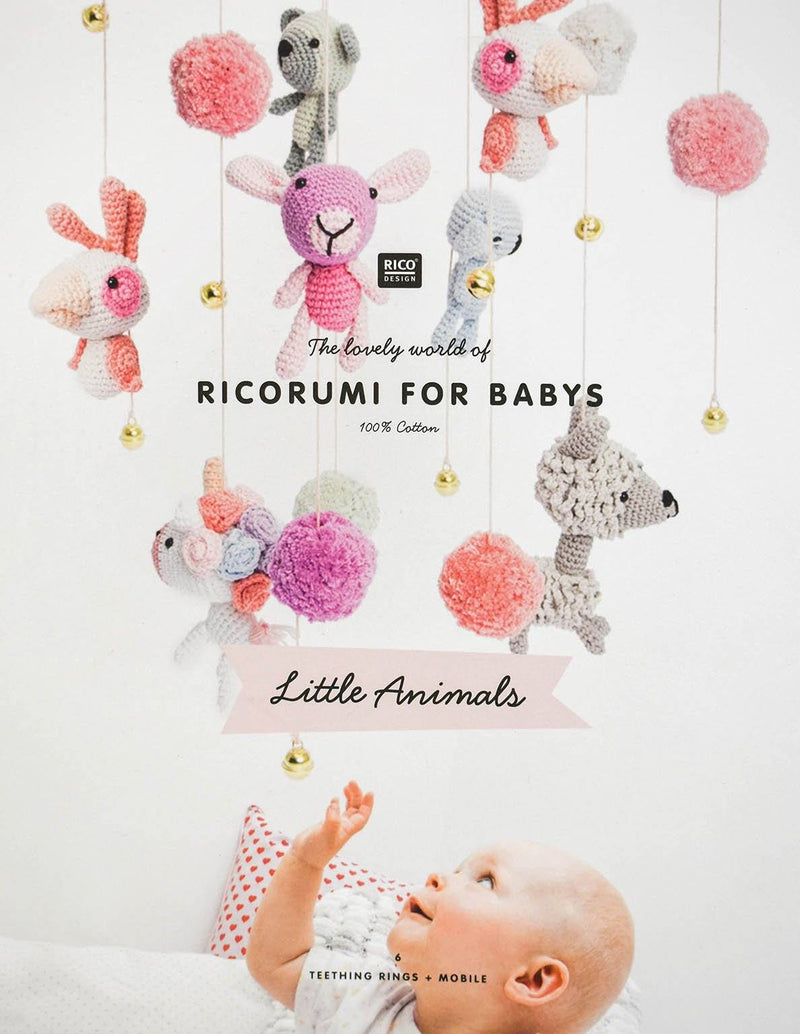 Ricorumi for Babies - Little Animals Book Rico BABY ANIMALS