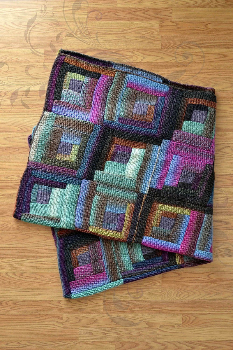 Lively Log Cabin Pattern Universal Yarn