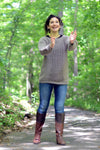 Pebbled Path Pullover