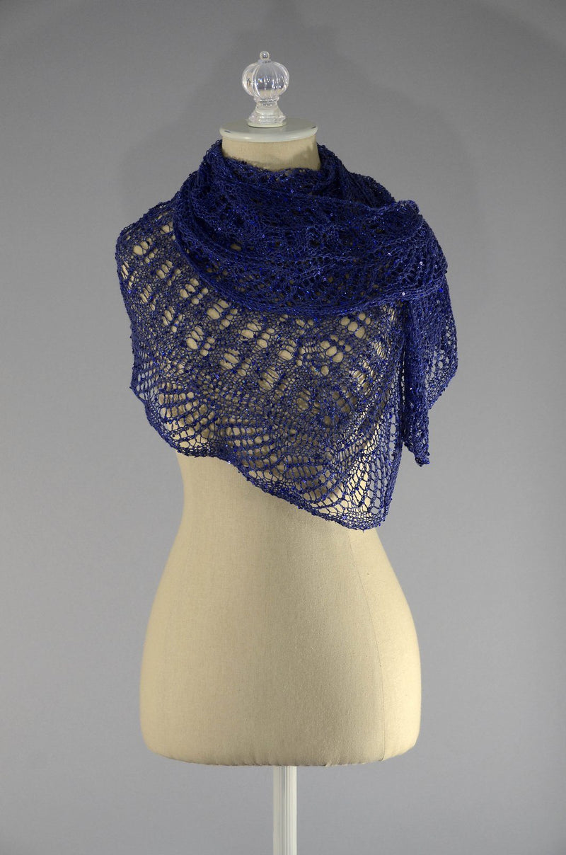 Phantom Shawlette Pattern Rozetti Yarns