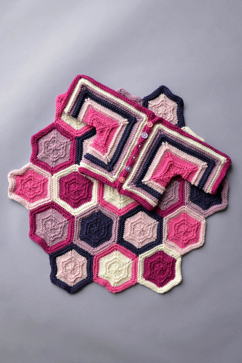 Dona Color Kits - Pinks Kit Universal Yarn Hexababy Set - Pinks01