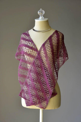 Bloomed Shawl
