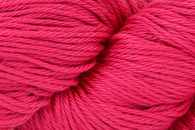 Radiant Cotton Yarn Fibra Natura 805 Fuschia