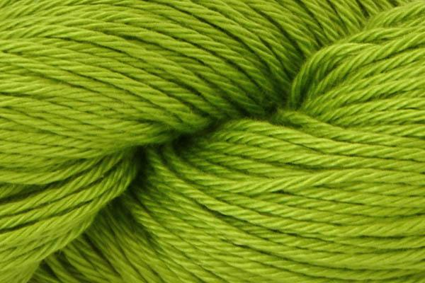 Radiant Cotton Yarn Fibra Natura 813 Lime Green