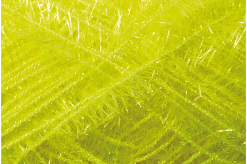 Creative Bubble Yarn Rico NEON YELLOW 027