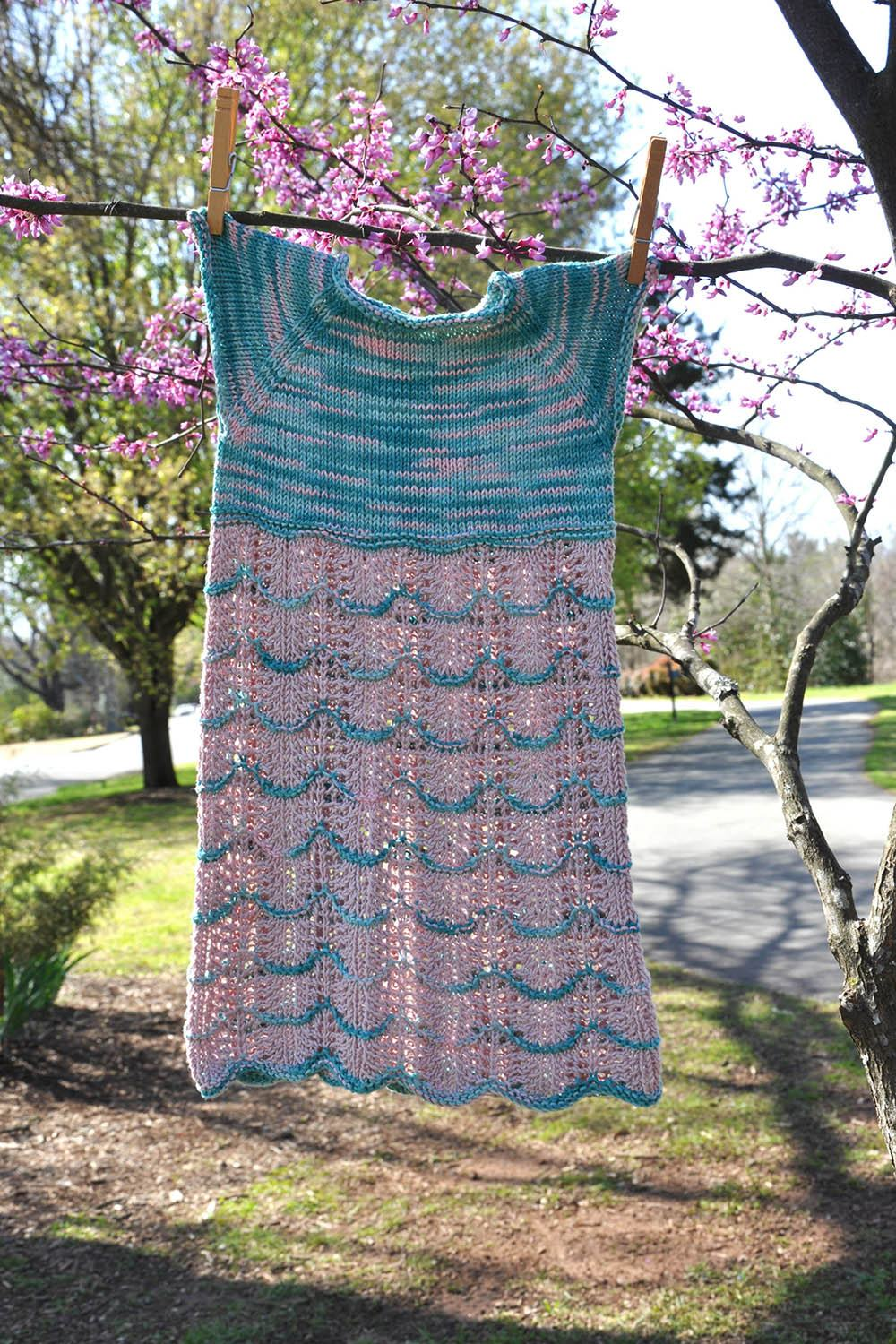 Sakura Dress Pattern Universal Yarn