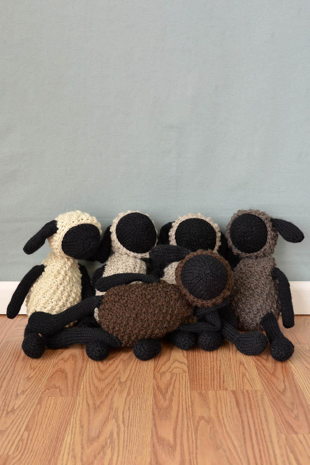 Sheldon Sheep and Friends Pattern Universal Yarn