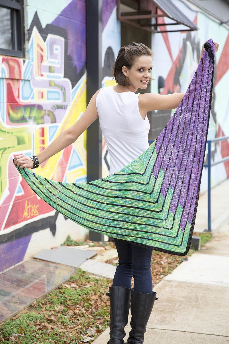 Staggered Shawl Kit Universal Yarn Staggered Shawl Original - Stag01