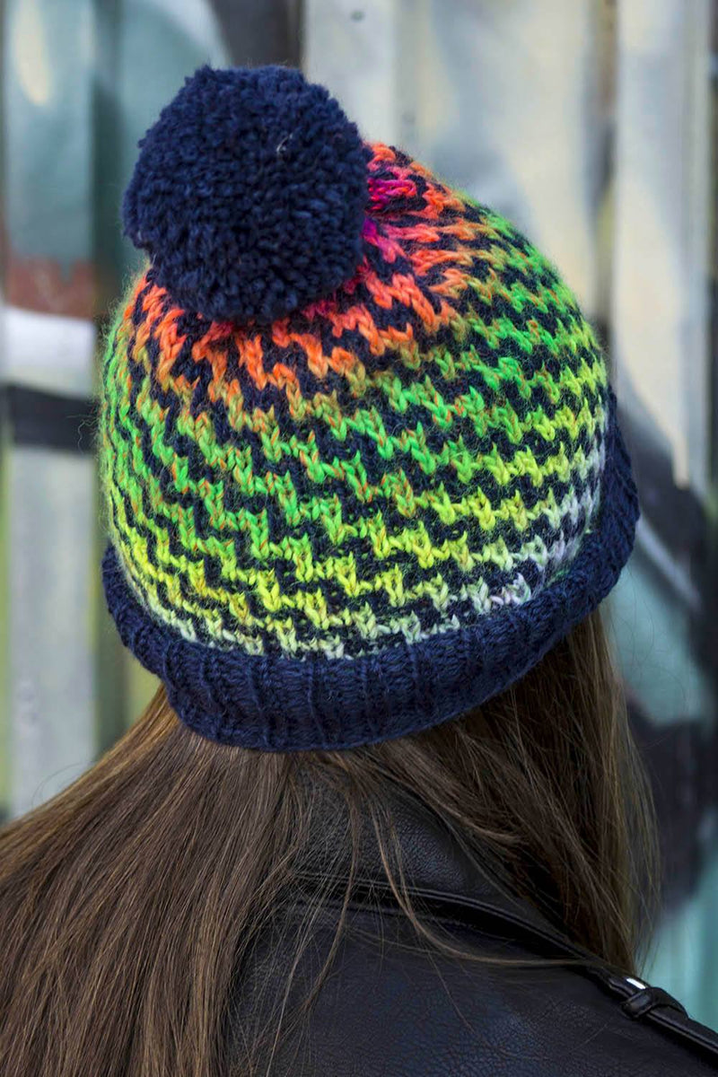 Step Up Hat Pattern Universal Yarn