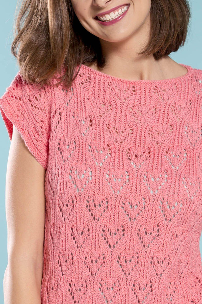 Love Lace Tee Pattern Universal Yarn