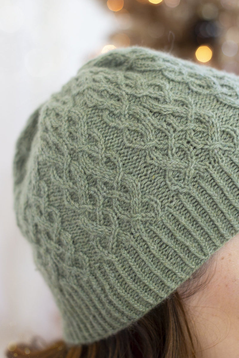 Sugar and Sage Hat Pattern Fibra Natura