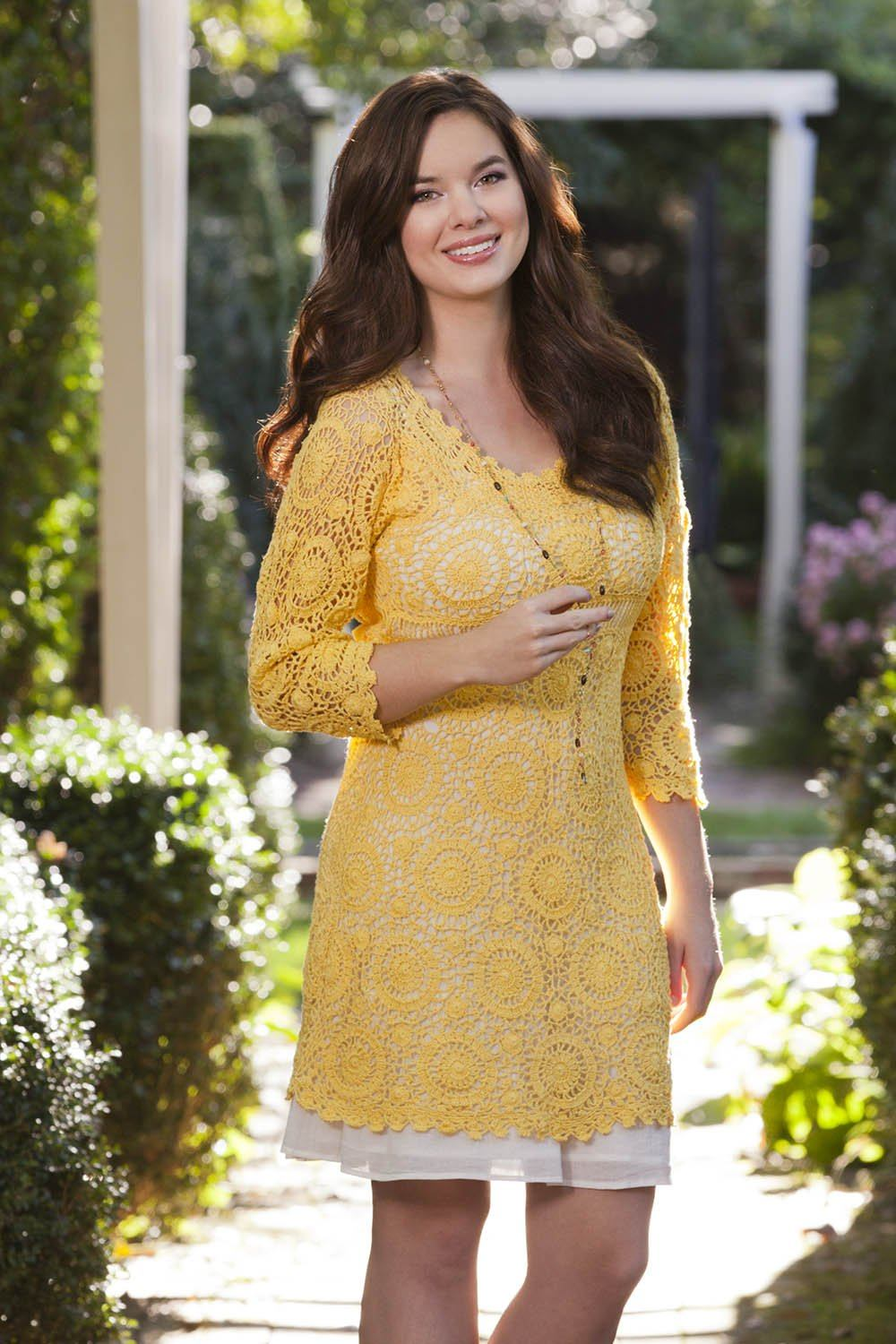 Sunflower Dress Pattern Nazli Gelin