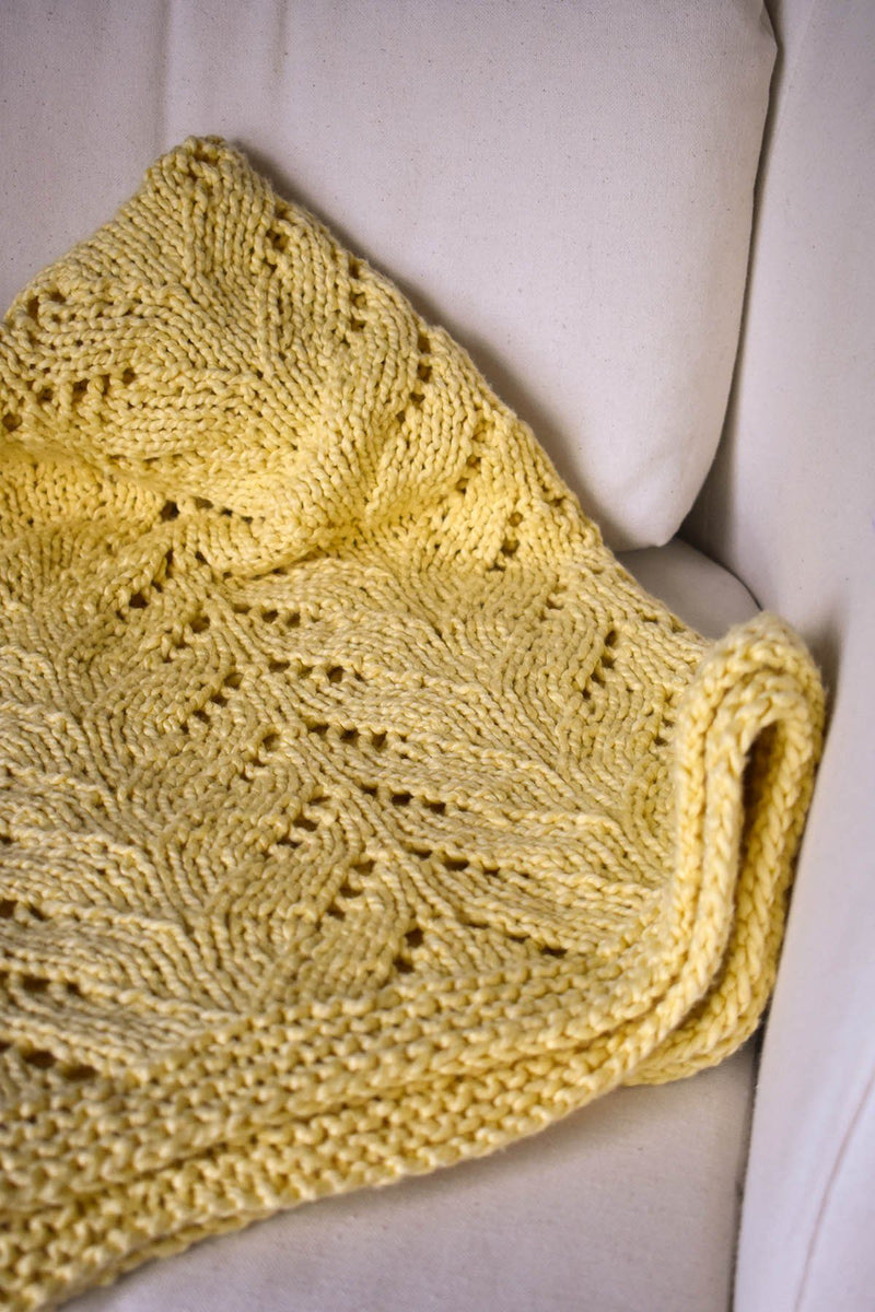 Sunshine Throw Pattern Universal Yarn