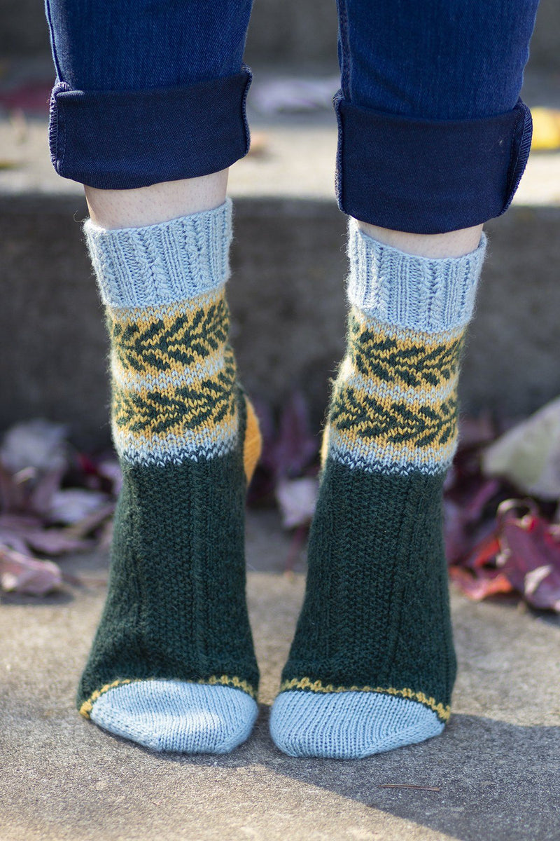 Sweet Dumplin' Socks Pattern Universal Yarn