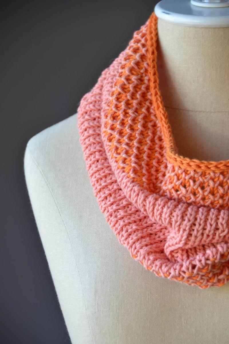 Sweet Little Cowl Pattern Fibra Natura