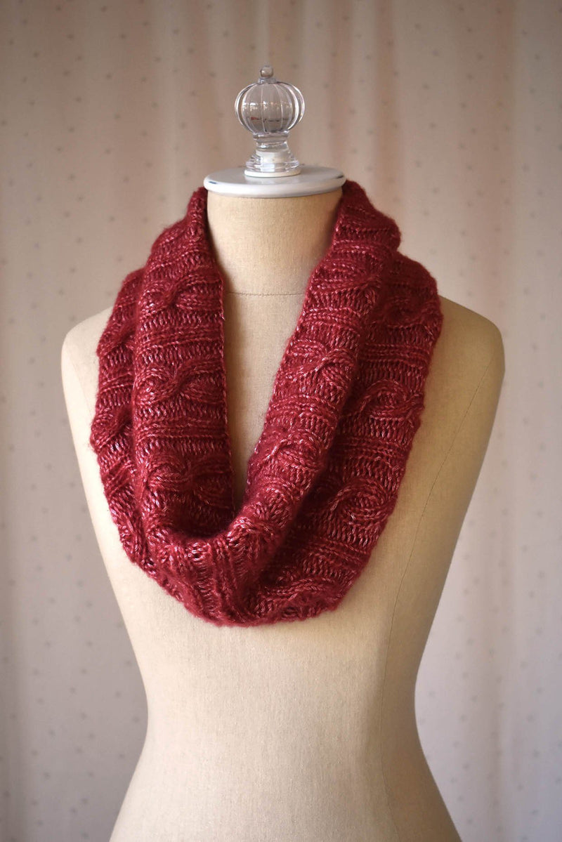 Swivel Cowl Pattern Rozetti Yarns