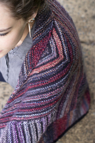 Ruby Shawl
