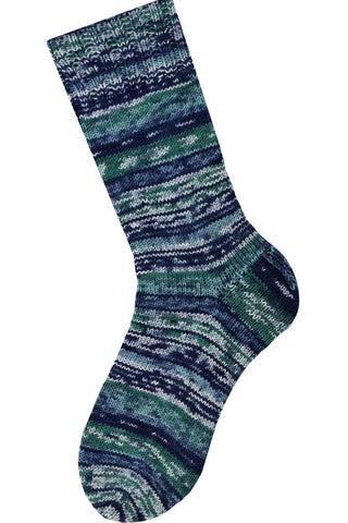 Saki Silk Simple Sock