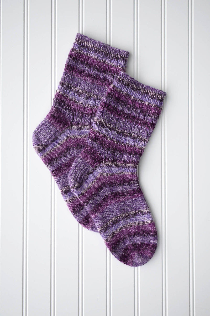 Contented Socks Pattern Wisdom Yarns