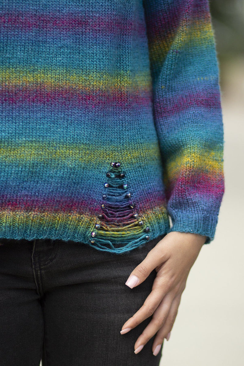 Tourmaline Sweater Pattern Universal Yarn