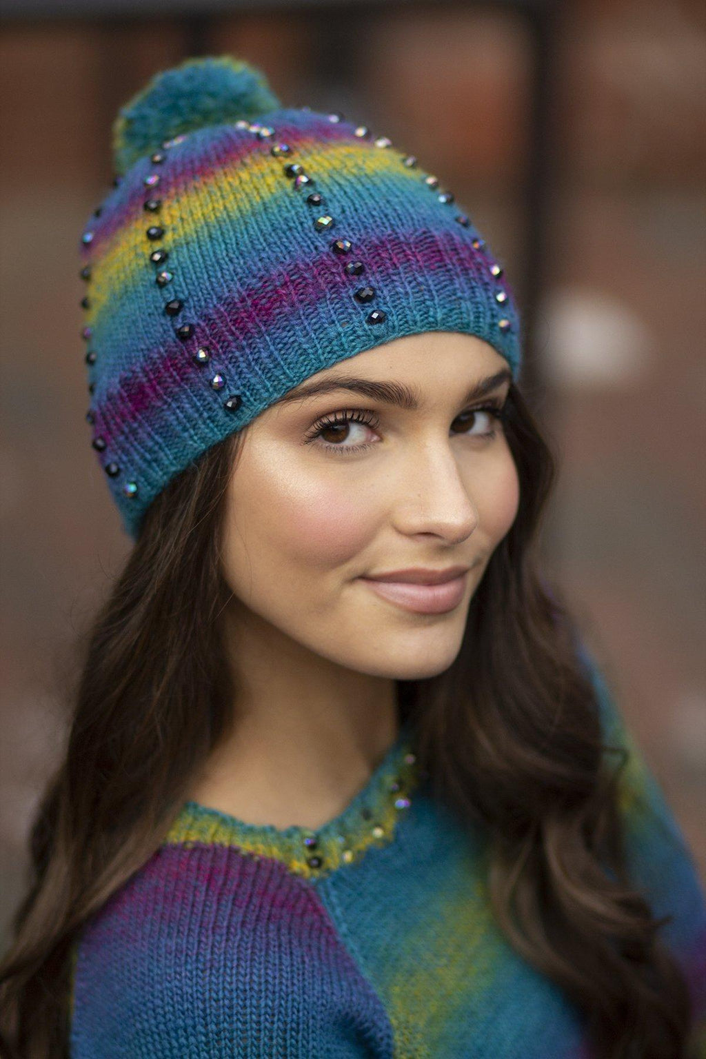 Tourmaline Hat Pattern Universal Yarn